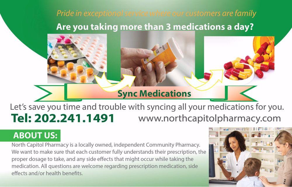 North Capitol Pharmacy: 1516 N Capitol St, Washington, DC, DC