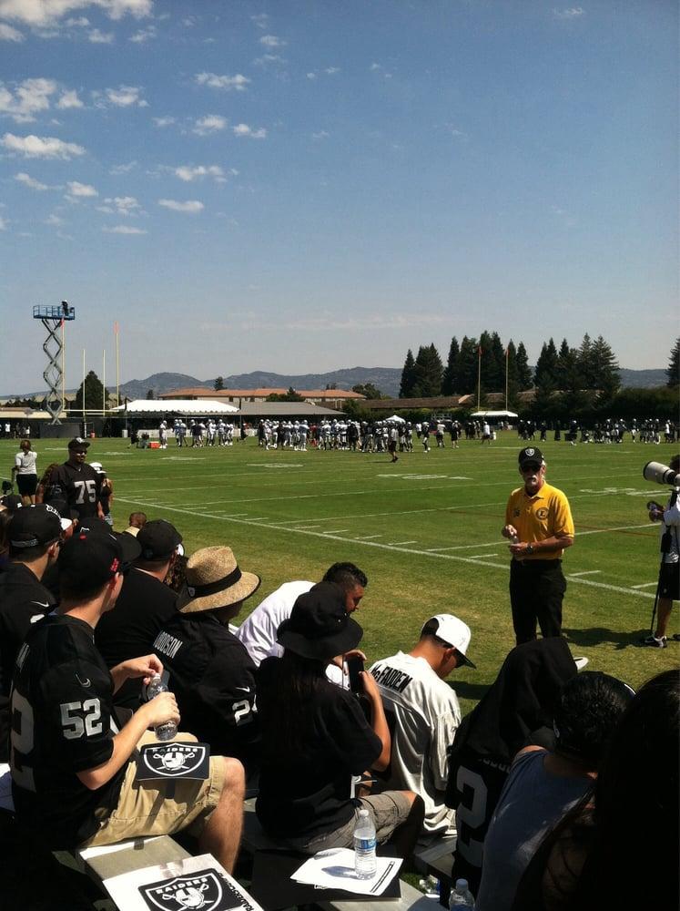 Oakland Raider Training Camp: 3425 Solano Ave, Napa, CA