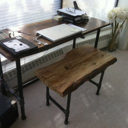 Bon Photo Of Refined Rustic Furniture   Calgary, AB, Canada. Custom Live Edge  Desks