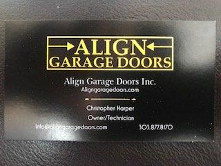Align Garage Doors: Aurora, CO