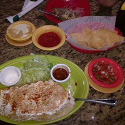 Photo Of El Patio Mexican Restaurant   Dyersburg, TN, United States. Patio  Quesadillas