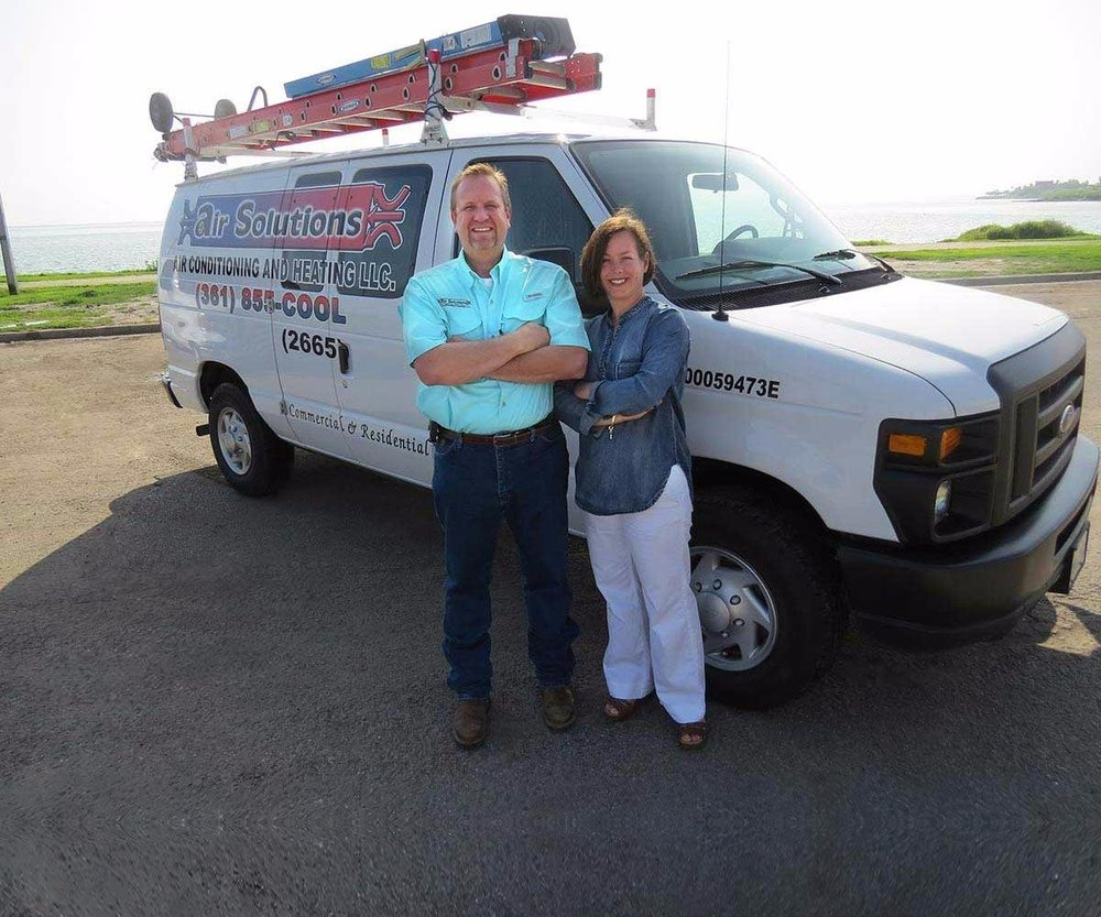 Air Solutions Air Conditioning and Heating: 410 44th St, Corpus Christi, TX