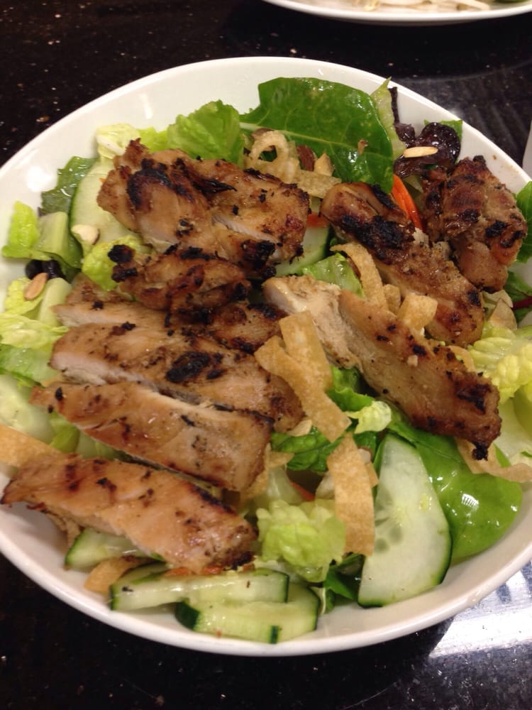 Most delicious asian chicken salad i have had yelp for Ajk chinese cuisine