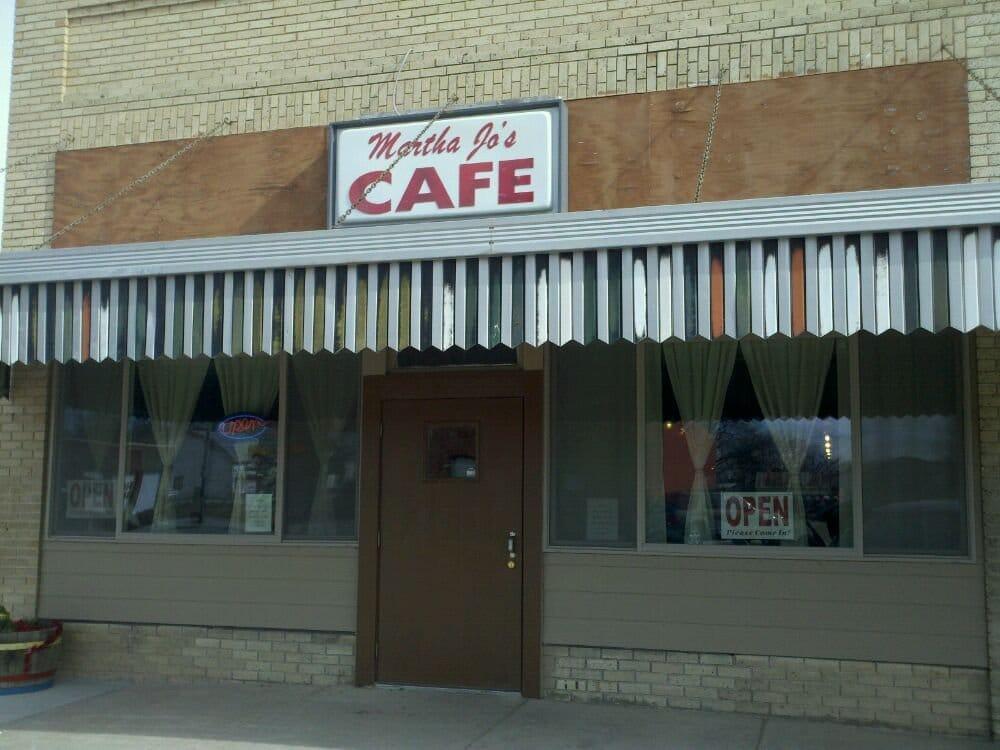 Martha Jo's: 118 Center Ave, Curtis, NE