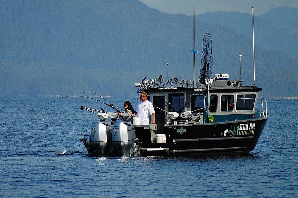 Alaska Strike Zone Sportfishing: 407 Knudson Cove Rd, Ketchikan, AK