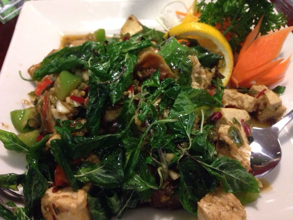 Spicy tofu yelp for Amarin thai cuisine