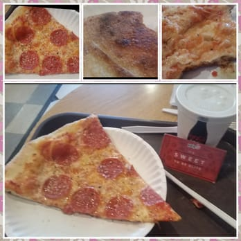 GUIDO'S ORIGINAL NEW YORK STYLE PIZZERIA. SALADS: CHOICE OF DRESSING: Fresh tossed greens SLICES OF PIZZA: Guido's original Basil Vegetarian Pepperoni Special of the day PIZZA: Medium (18