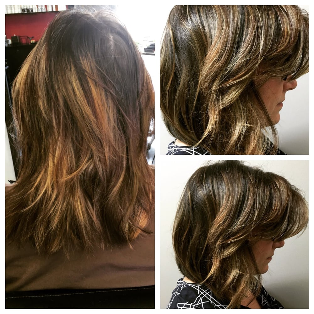 addcee6e7 Huge before and after transformation! From a brassy and stripy ...