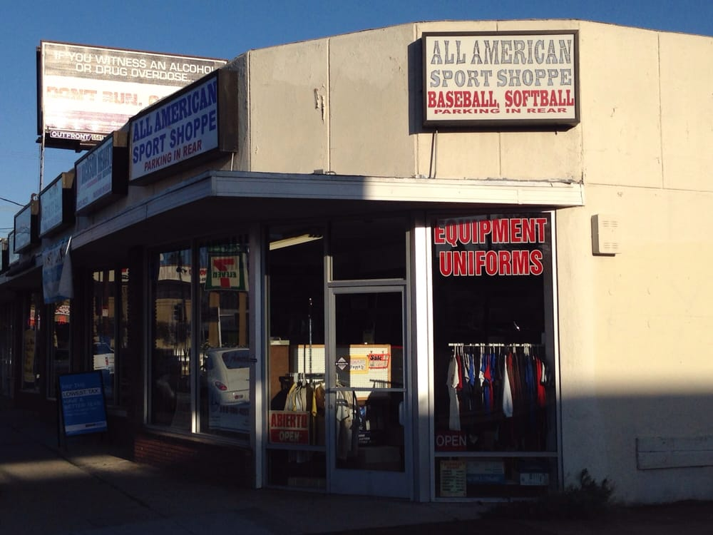 All American Sports Shop: 20120 Saticoy St, Winnetka, CA