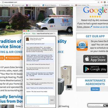 Estes Services 22 Photos 63 Reviews Heating Air Conditioning Hvac 3981 Tradeport Blvd Atlanta Ga Phone Number Last Updated December 17