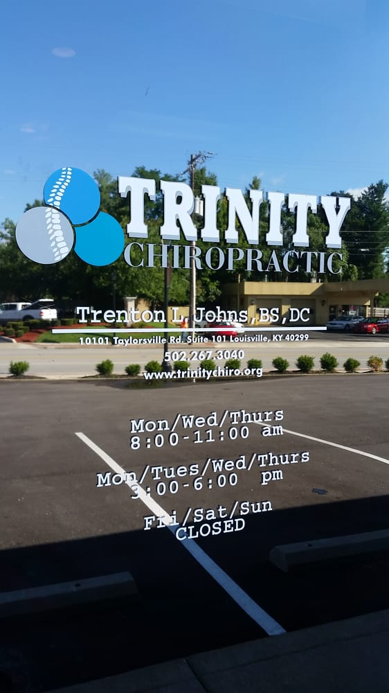 Trinity Chiropractic: 9204 Taylorsville Rd, Louisville, KY