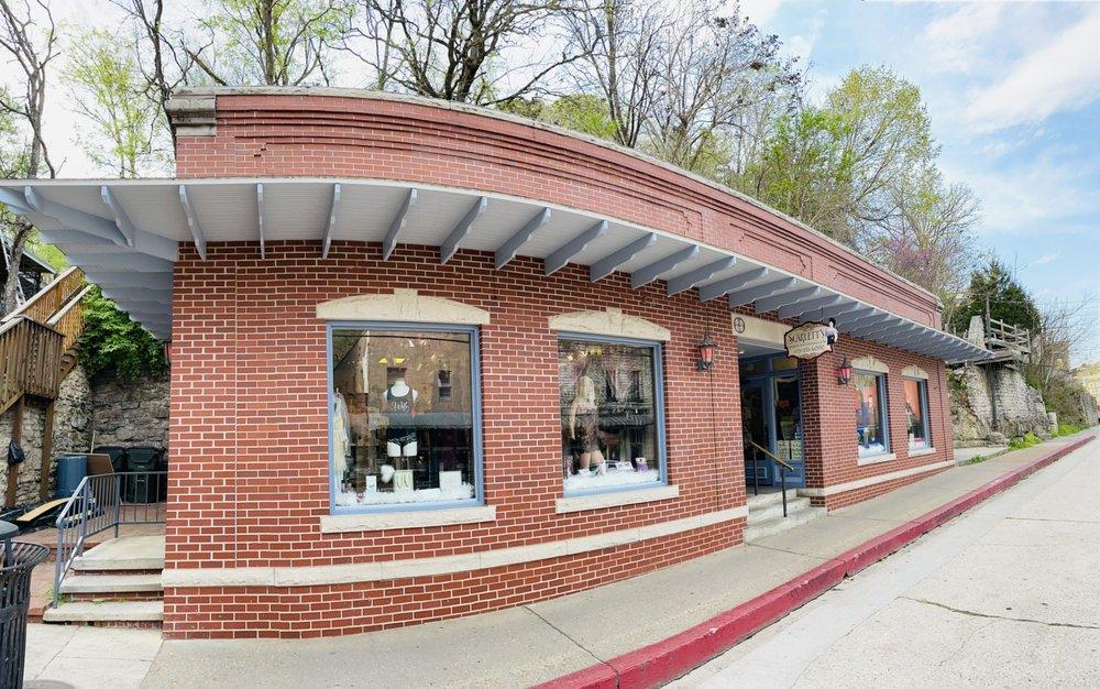 Scarlett's Lingerie & Curiosities: 23 S Main St, Eureka Springs, AR