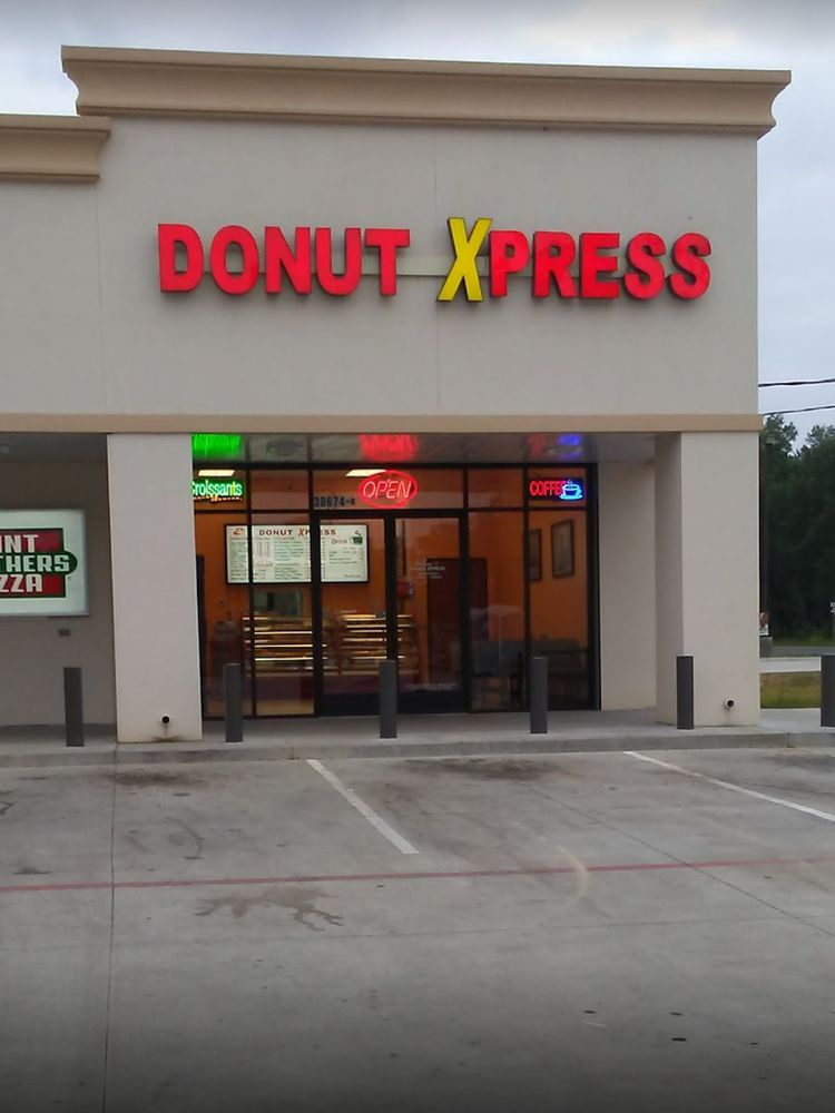 Donut Xpress: 30674 Highway 146 N, Cleveland, TX
