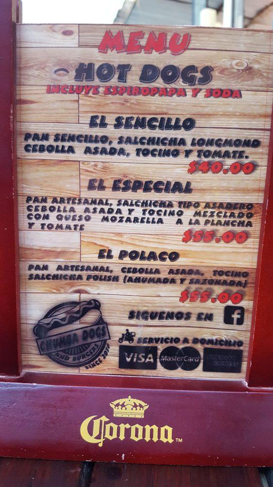 Chumba Dogs: Presidente Elías Calles 43, Tecate, BCN