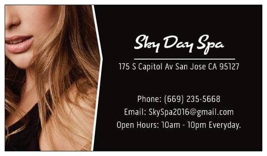 Sky Day Spa Massage 175 S Capitol Ave Alum Rock East Foothills San Jose Ca Phone Number Yelp