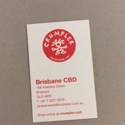 Crumpler accessories 156 adelaide st cbd brisbane queensland photo of crumpler brisbane queensland australia business card for crumpler in reheart Images