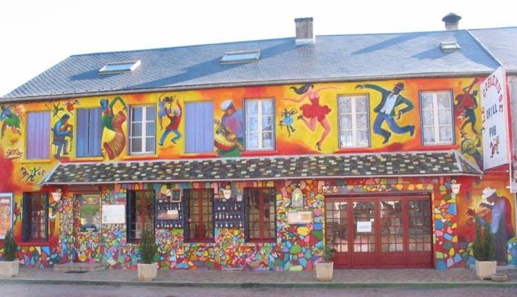 Cafe Restaurant Rue Du Bourg Dijon