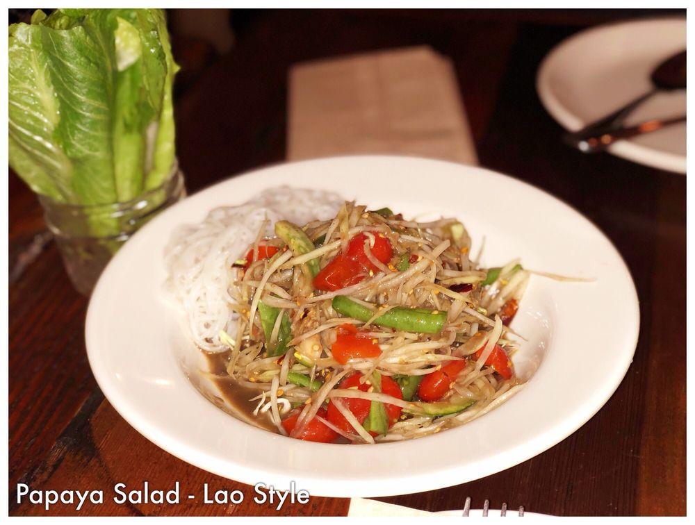Larb Thai Food & Tapas: 10166 San Pablo Ave, El Cerrito, CA