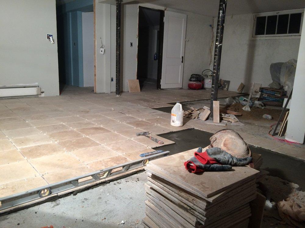 Floor Tile Installation Yelp