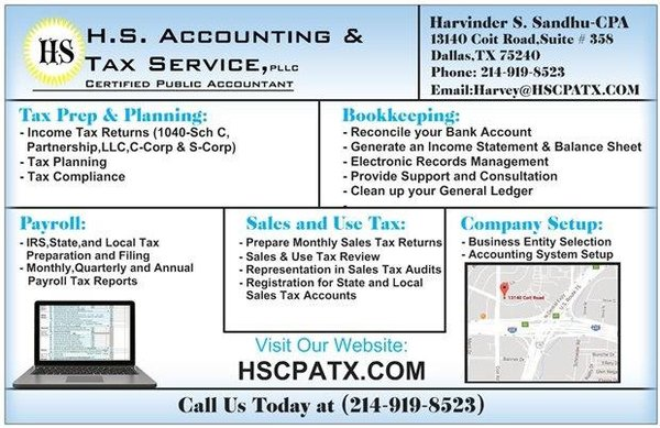 H S Accounting & Tax Service, CPA - 2019 All You Need to