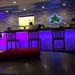 Photo Of Sweet Basil Clark Nj United States Sushi Bar Area