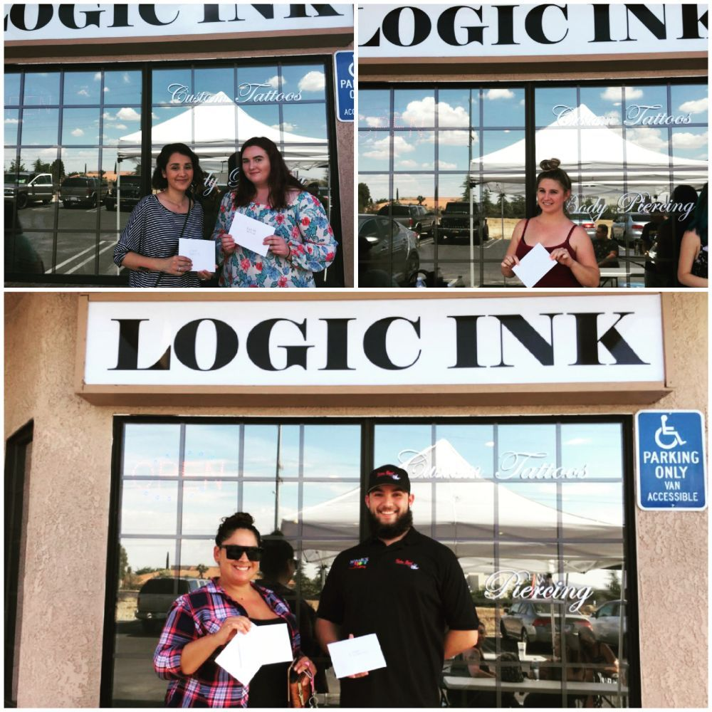 Logic Ink Tattoo & Piercing: 18361 Bear Valley Rd, Hesperia, CA
