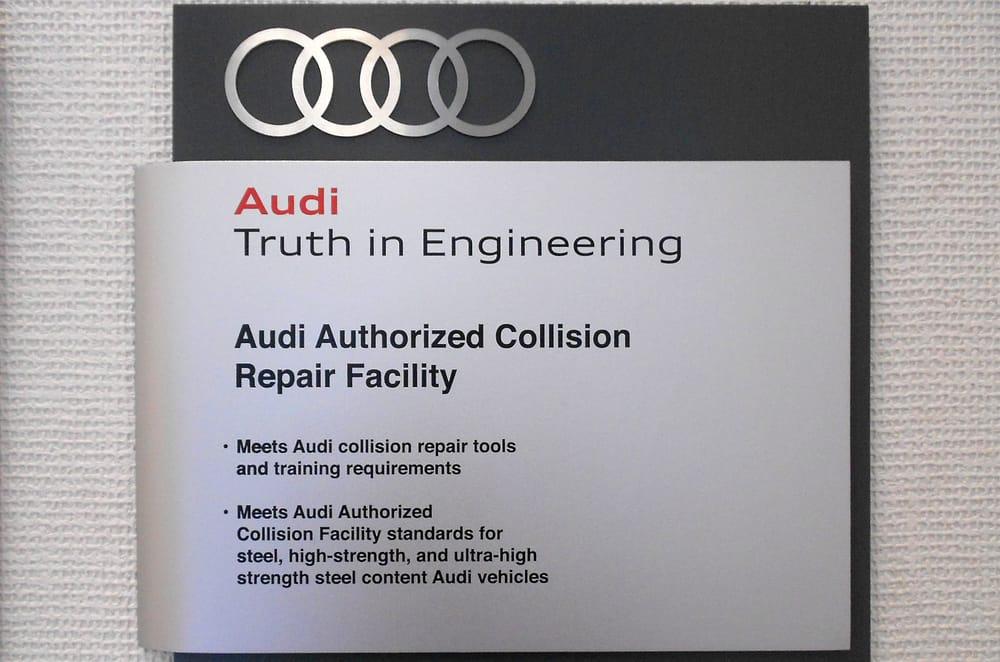 Niello Collision Center Photos Reviews Auto Repair - Audi certified collision repair
