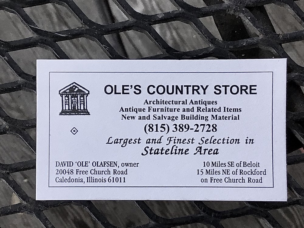 Ole's Country Store: 20048 Free Church Rd, Caledonia, IL