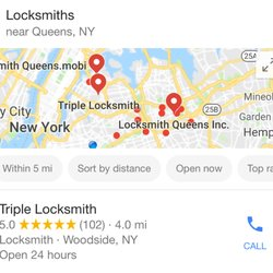 Photo Of Triple Locksmith   Woodside, NY, United States. 102 Googel Reviews  Thanks