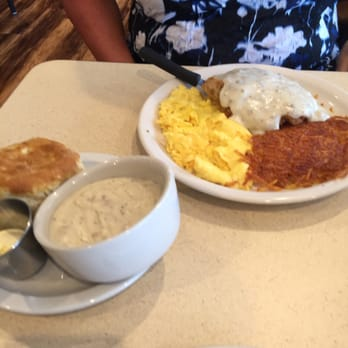 Photo Of The Biscuit Raymore Mo United States En Fried Steak