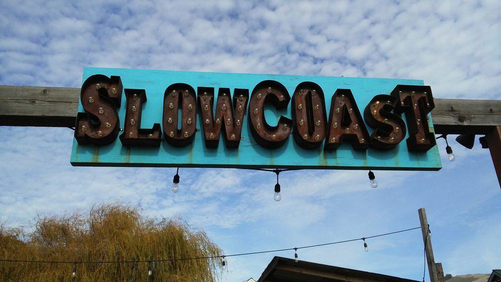 Slowcoast: 450 Hwy 1, Davenport, CA