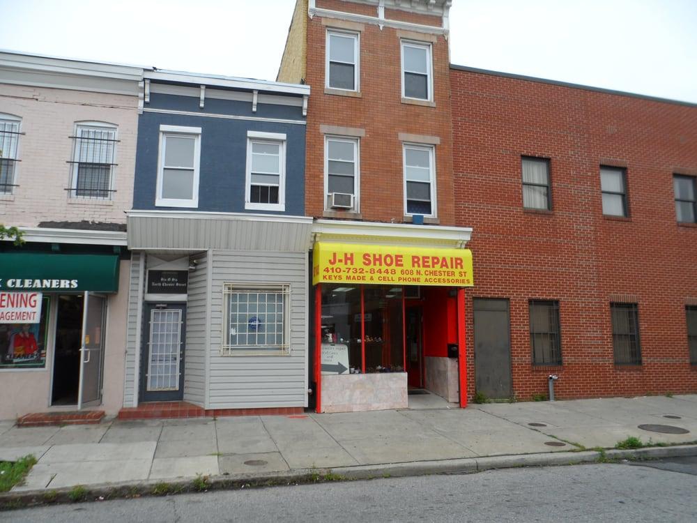 J H Shoe Repair Baltimore Md