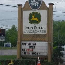 Photo Of John Deere Landscape Garden Center Franklin Tn United States Sign