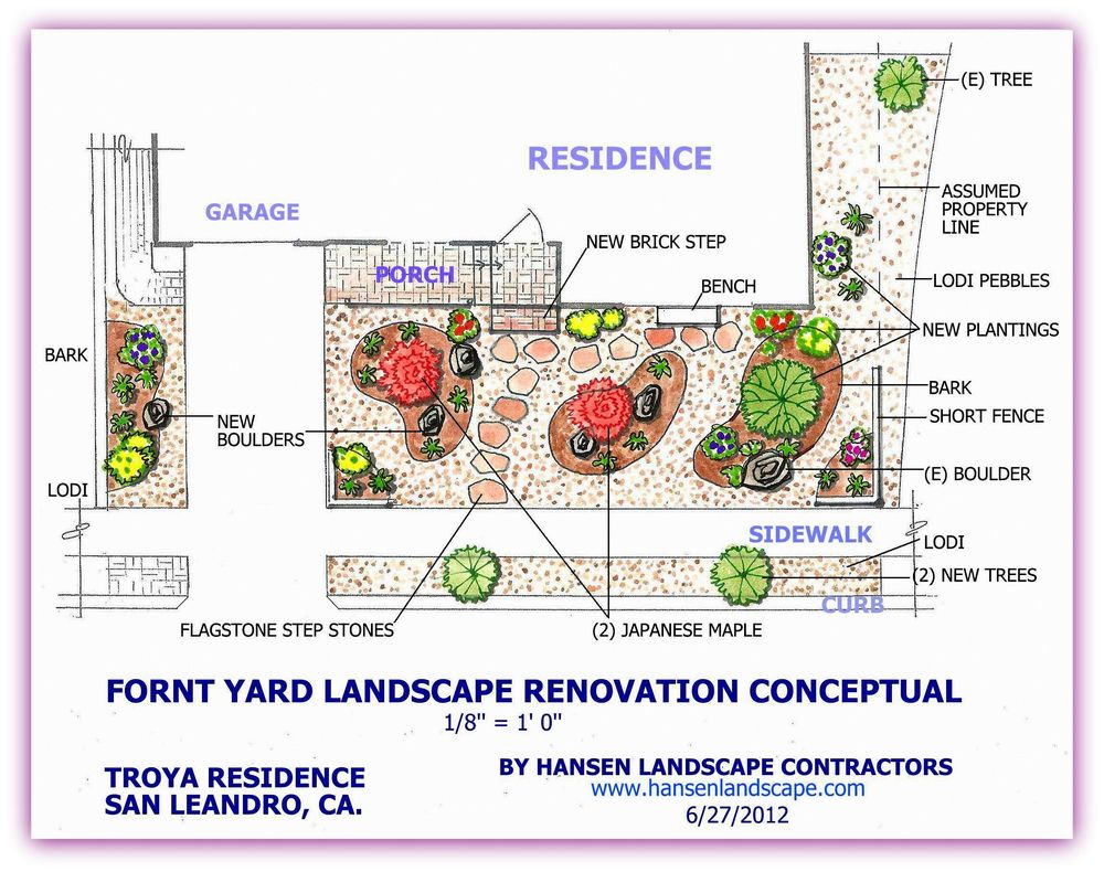 Hansen Landscape Contractor 107 Photos 37 Reviews Landscaping Know More About Diagram Of A Plant Cell Front Yard Ideas Castro Valley Ca Phone Number Yelp