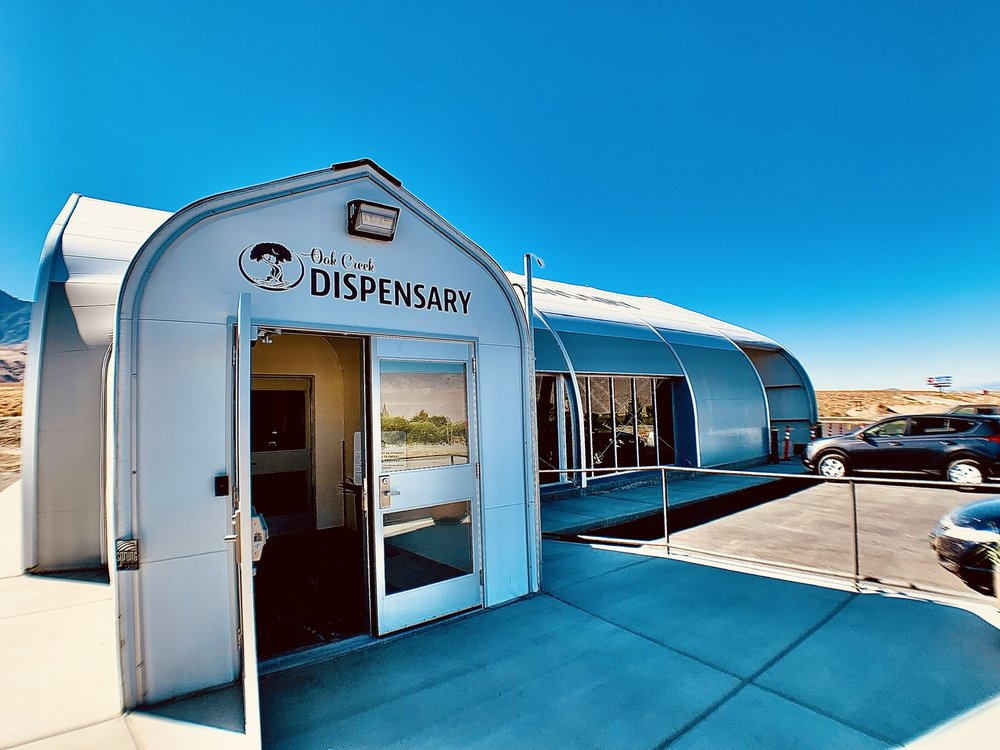 Oak Creek Dispensary: 139 N Hwy 395, Independence, CA