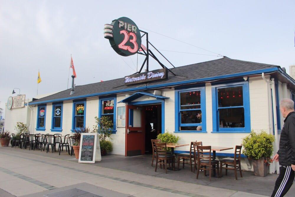 Pier  Cafe San Francisco Menu