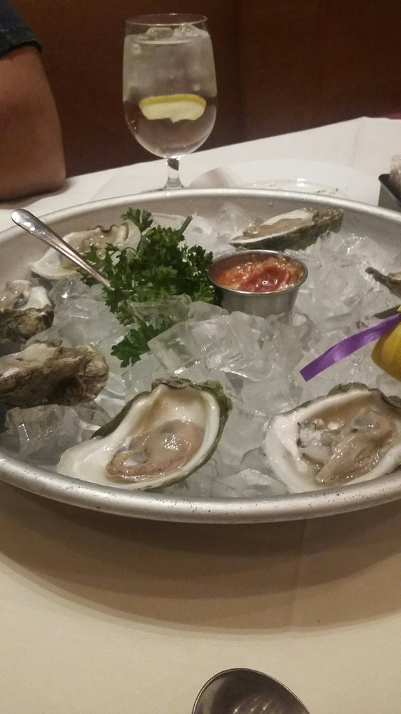 Fresh oysters. Small, but flavorful. - Yelp