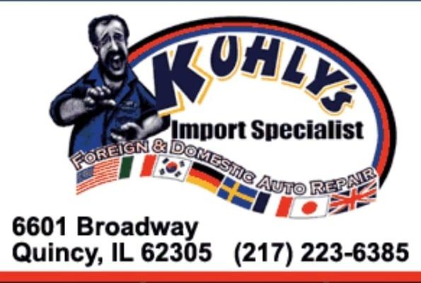 kuhly s import specialist auto repair bilreparation. Black Bedroom Furniture Sets. Home Design Ideas