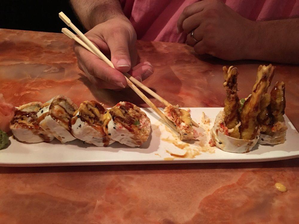 Food from Kirin Sushi Restaurant