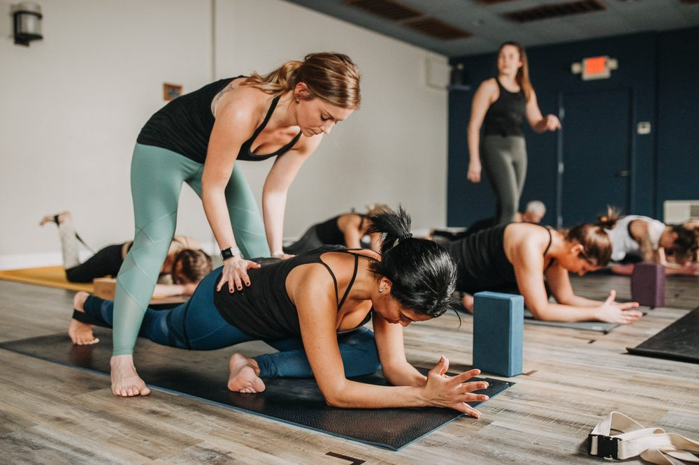 Social Spots from Yoga Strong