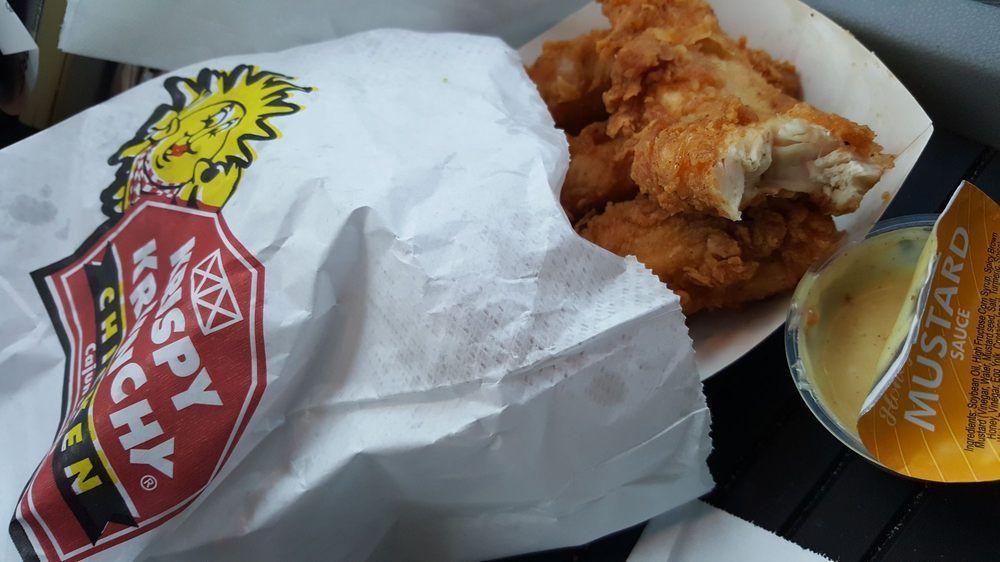 Krispy krunchy chicken: 20 Broad St, Atlanta, GA