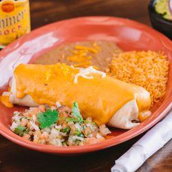 Photo Of Angelina S Mexican Restaurant Denton Tx United States Burrito Grande