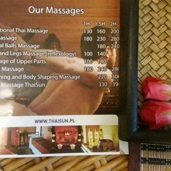 thai massage warsaw