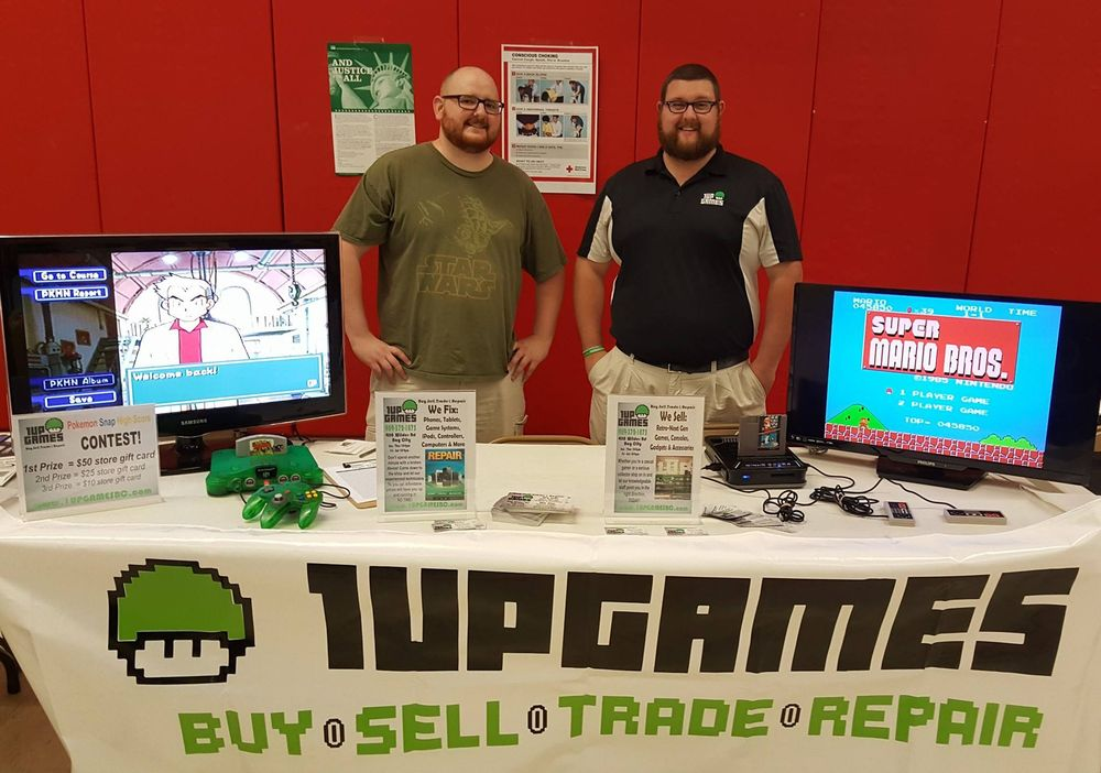 1UP Games and Repairs: 4118 Wilder Rd, Bay City, MI