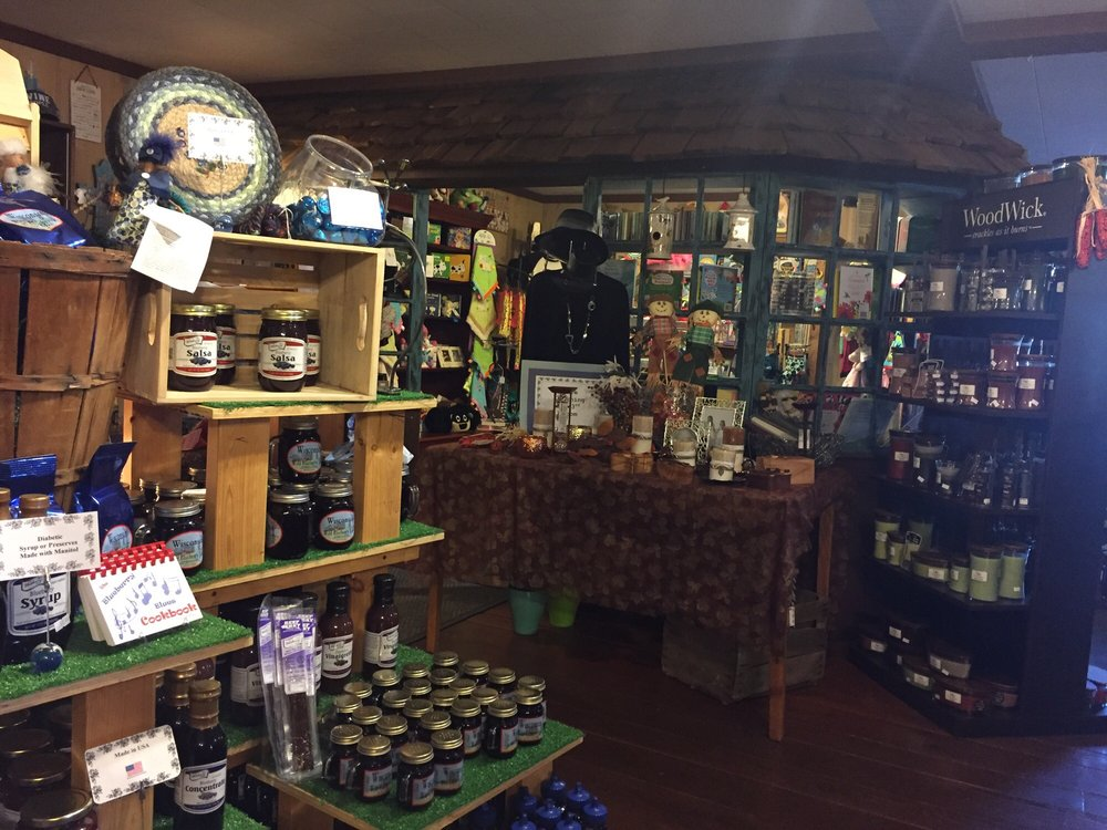 Blueberry Patch: 10351 Main St, Boulder Junction, WI