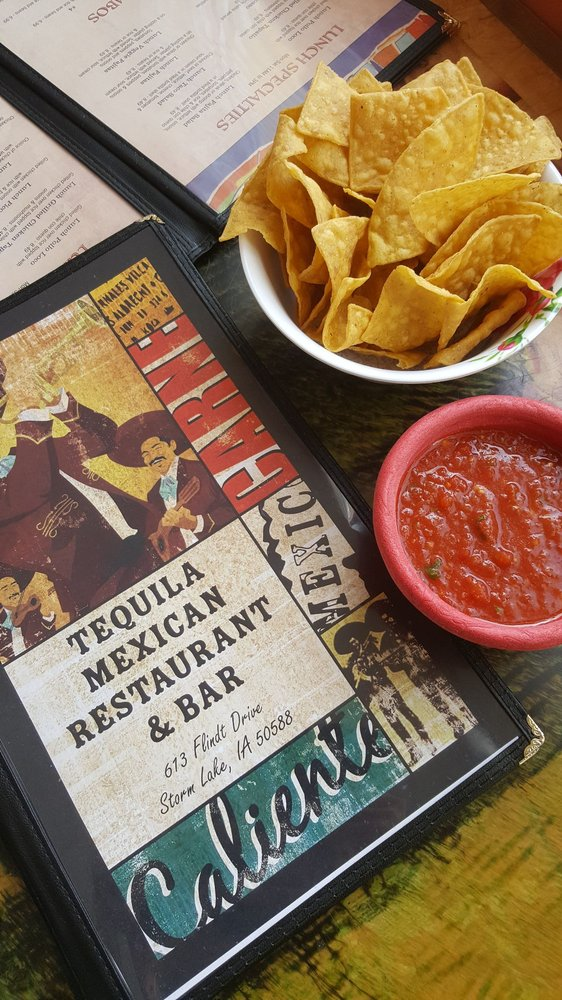 Tequila Mexican Restaurant & Bar: 613 Flindt Dr, Storm Lake, IA