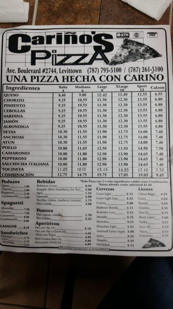 Cariños Pizza: 2744 Avenue Boulevard, Toa Baja, LA