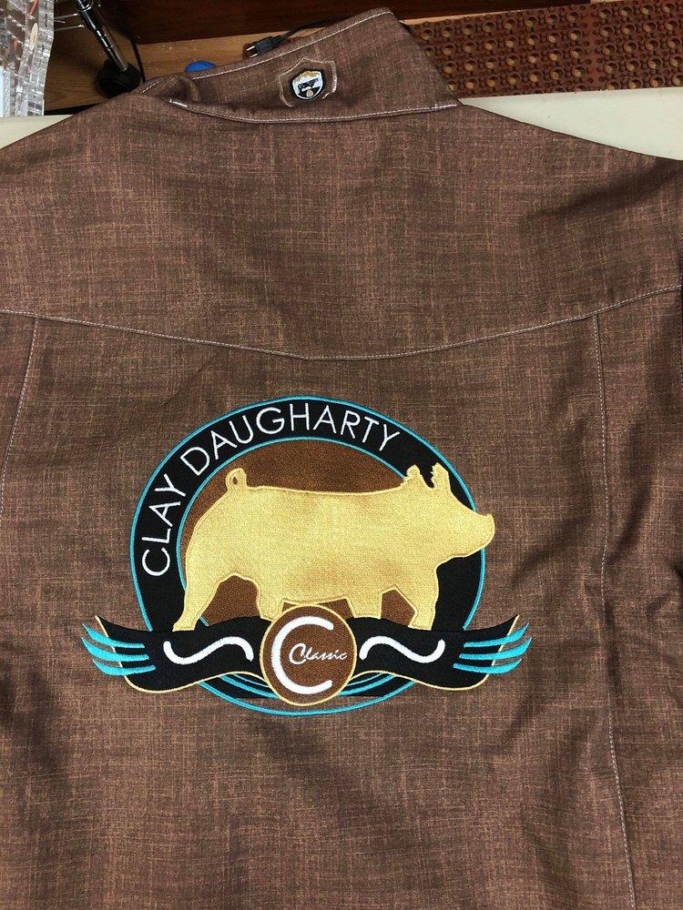 Stargazer Embroidery: 3935 N Cocoa Blvd, Cocoa, FL