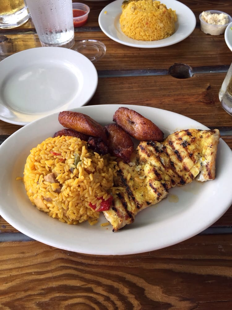 Grilled grouper yelp for Garcia s seafood grille fish market