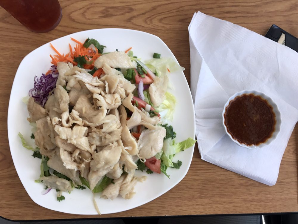 Food from Thai Chicken Bowl